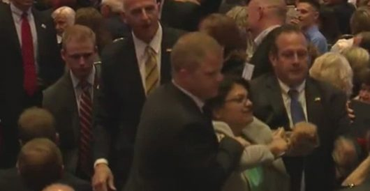 Flashback: Rashida Tlaib was hauled out of 2016 Trump campaign event for disrupting it by LU Staff