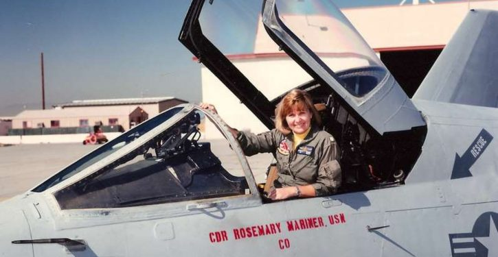 Captain Rosemary Mariner, USN, first woman to fly a tactical jet, passes away at 65