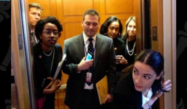 Ocasio-Cortez and pals try to troll Mitch McConnell but end up in the wrong office by LU Staff