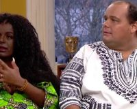 'Transracial' couple is convinced their children will be born black