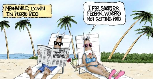 Cartoon of the Day: Getaway by A. F. Branco