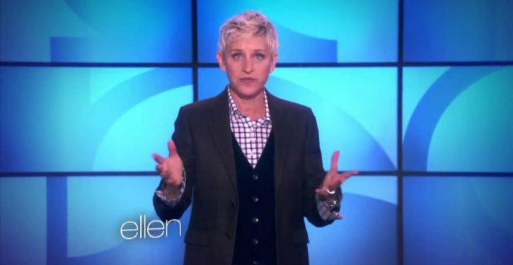 Libs angry over Ellen DeGeneres's support of comedian who wrote 'homophobic' tweets