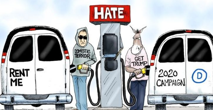 Why liberals have zero credibility when they talk about a 'climate of hate'