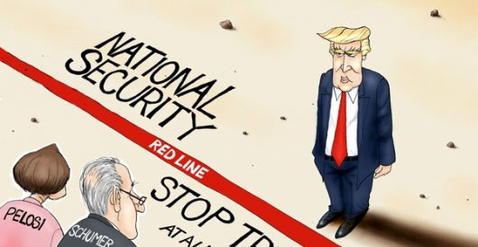 Cartoon of the Day: American standoff by A. F. Branco
