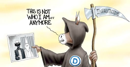 Cartoon of the Day: The grim weeper by A. F. Branco