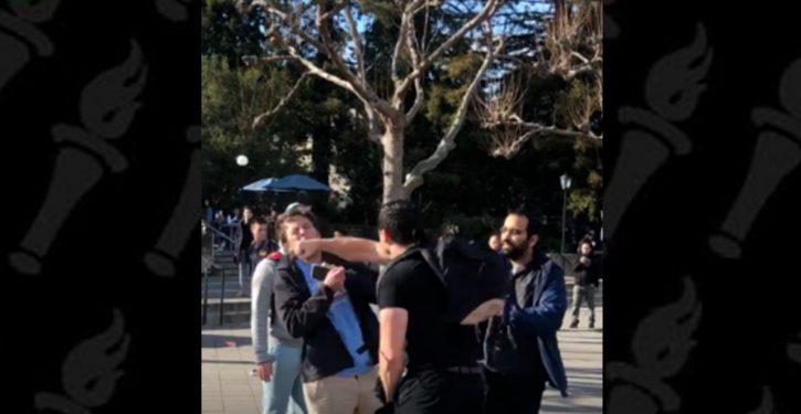 BREAKING: UC-Berkeley Police seek arrest warrant for attacker of conservative activist