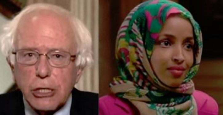Bernie Sanders privately expressed support for Ilhan Omar over anti-Semitic remarks
