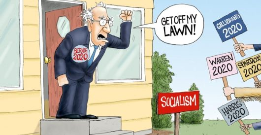 Cartoon of the Day: Red scare by A. F. Branco