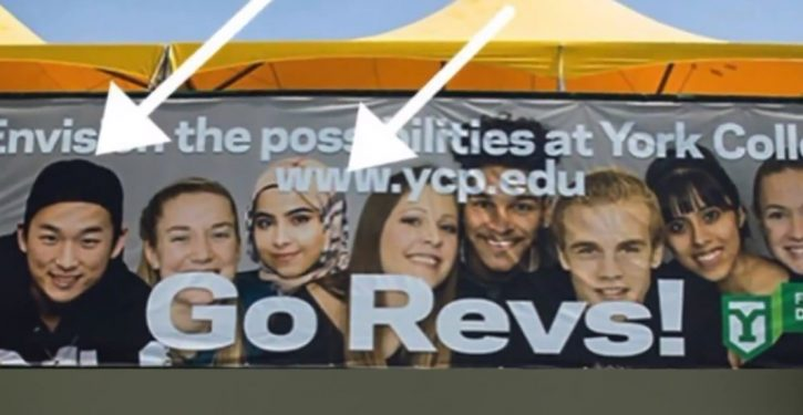 College in PA photoshopped ad image to look more 'diverse'