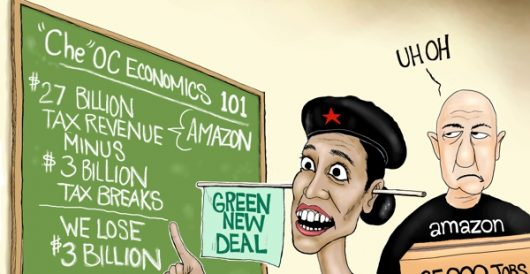 Cartoon of the Day: In the red by A. F. Branco