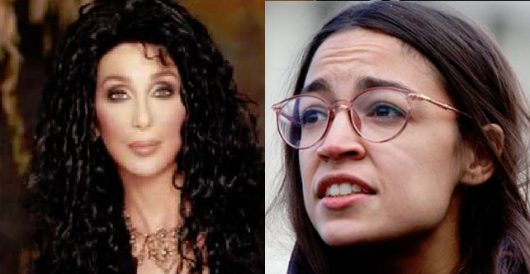 Cher tears into Ocasio-Cortez for costing NY 25,000 Amazon jobs by Rusty Weiss