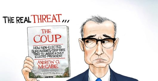 Cartoon of the Day: Dishonest McCabe by A. F. Branco