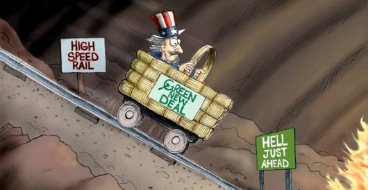 Cartoon of the Day: Being railroaded by A. F. Branco