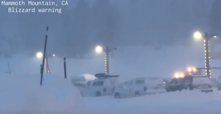 California: Please DON'T visit our ski resorts this weekend – there's too much snow