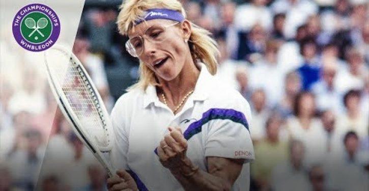 Lesbian tennis icon Navratilova slams trans women athletes, axed from modern LGBTQ movement