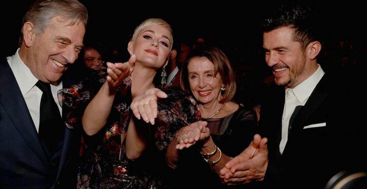 Nancy Pelosi recreates 'sarcastic' clap with Hollywood elite at LA gala