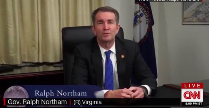 Right on cue, CNN delivers the fakest of fake news about a flailing Gov. Northam