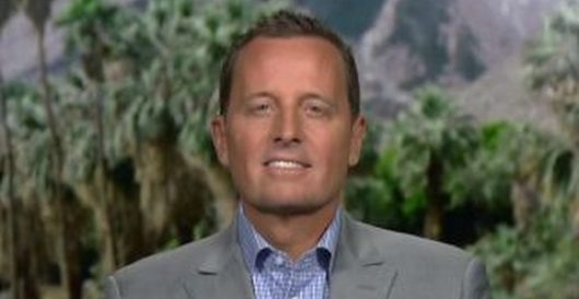 Three reasons Richard Grenell is an excellent choice for DNI by J.E. Dyer