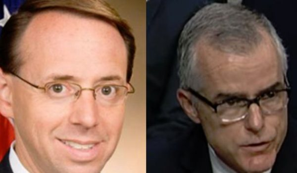 Lindsey Graham vows probe of McCabe, Rosenstein over 'bureaucratic coup' by Daily Caller News Foundation