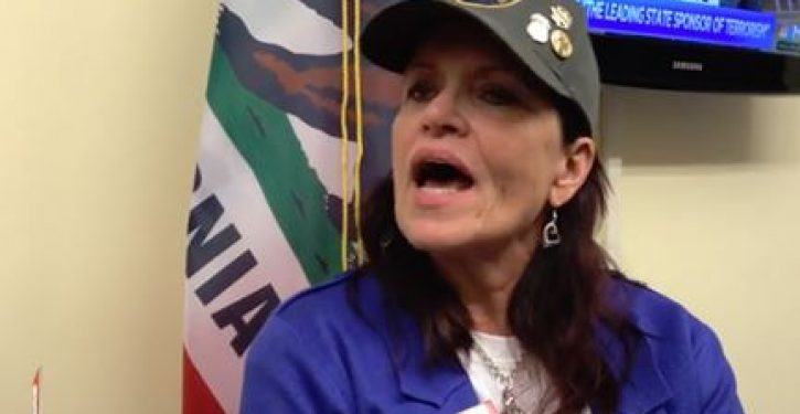 Legal immigrant Angel Mom in Pelosi's office: Why are illegal aliens 'placed in front of us?'