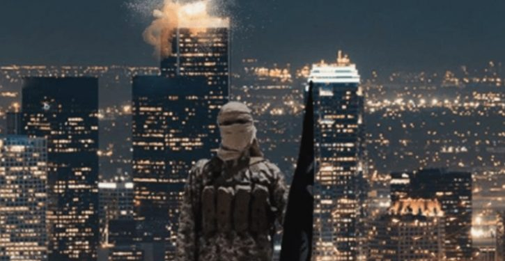 ISIS goes Hollywood in latest threat: photpshops L.A. skyscraper exploding