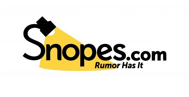 Snopes misstates the law regarding qualified immunity