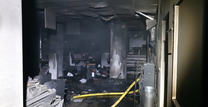 Far-left extremists take credit for firebombing French radio station