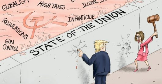 Cartoon of the Day: Union at stake by A. F. Branco