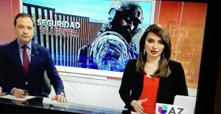 Univision uses soldier from video game to scare viewers over Trump's border proposal