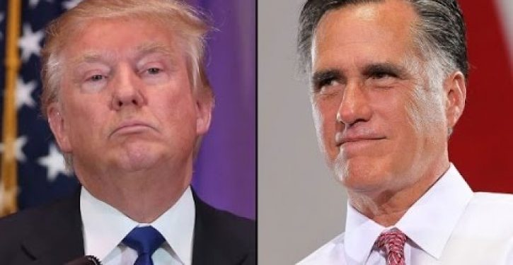 Mitt Romney forms alliance with top Dem to go after Trump