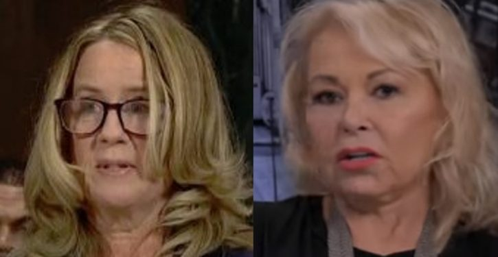 Roseanne Barr: Christine Blasey Ford 'should be in prison'