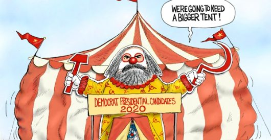 Cartoon of the Day: DNC (Democratic National Circus) by A. F. Branco