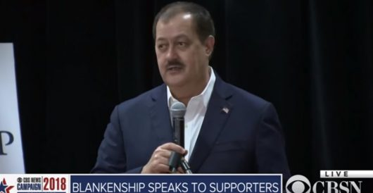 Anti-establishment Blankenship calls out Fake News and 'the swamp' in $12 billion lawsuit by Mitchell Gunter