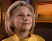 Hillary Clinton: An unborn child just hours before delivery has no constitutional rights