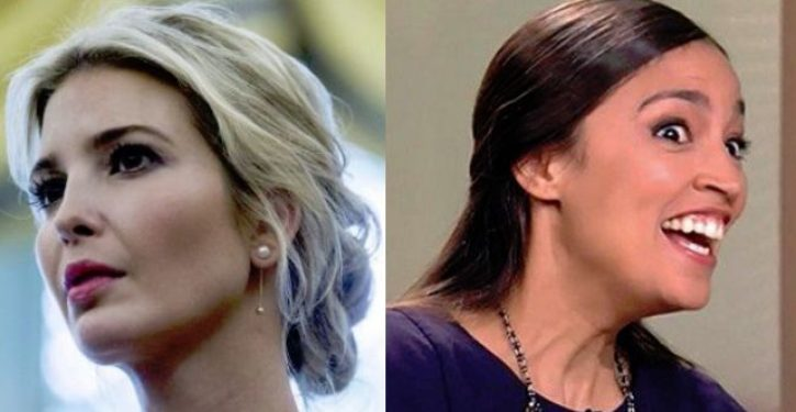 Ocasio-Cortez fires back at Ivanka Trump over 'Green New Deal' criticism, gets pwned