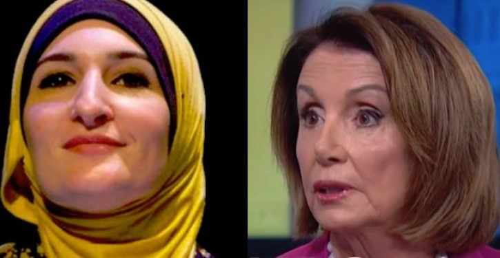 Linda Sarsour slams 'white feminist' Pelosi over resolution condemning anti-Semitism