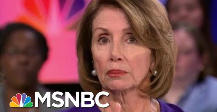 The new 'resistance': Is Pelosi making a stand or just trying to look relevant?