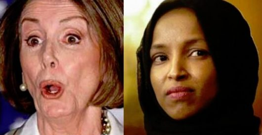 Pelosi: Ilhan Omar isn't anti-Semitic; she just has a 'different experience in the use of words' by Ben Bowles