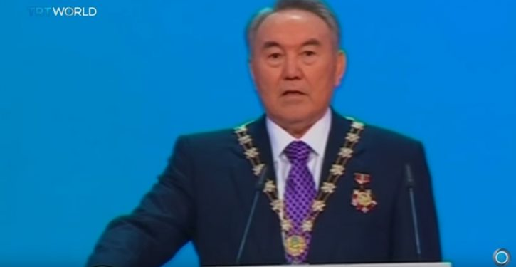 30-year president of Kazakhstan unexpectedly resigns