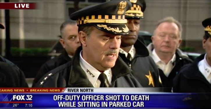 Off-duty Chicago police officer fatally shot while inside parked car