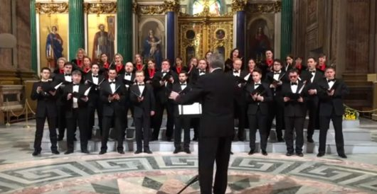 VIDEO: Russian choir criticized for song about nuking USA by J.E. Dyer