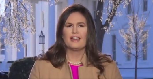 Sarah Sanders: Democrats accused Trump of 'treason.' Why she has a definitive point by J.E. Dyer