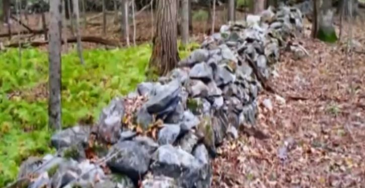 Studying old stone walls of New England shows how magnetic pole has wandered