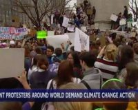 NBC, CBS promote teens skipping school to protest global warming