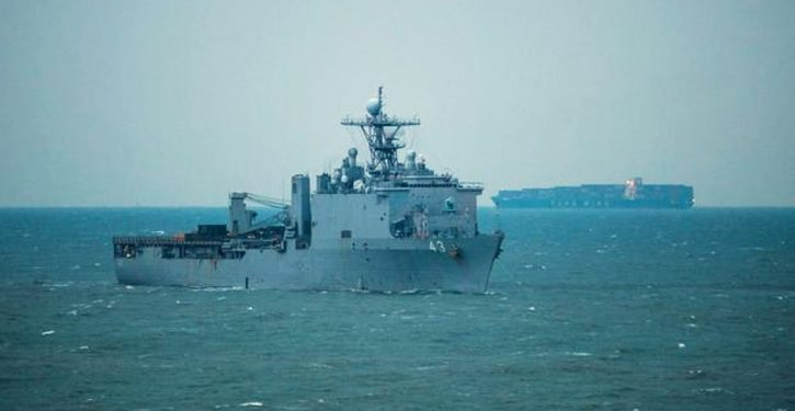 U.S. amphibious warship diverted, quarantined after rare virus outbreak on deployment