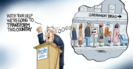 Cartoon of the Day: Feel the Bern … again by A. F. Branco