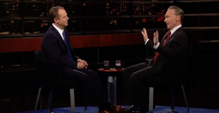 Bill Maher mocks Adam Schiff on impeachment: 'Now it just looks like you're stalking him'