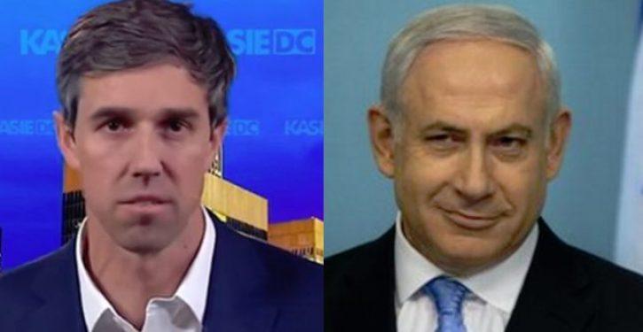 Beto O'Rourke calls Israeli PM Benjamin Netanyahu a 'racist'