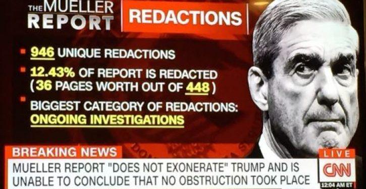 CNN can't do the Mueller report math