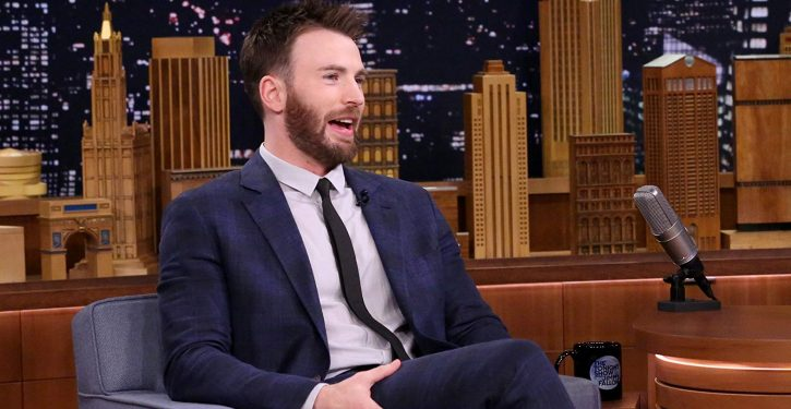 Actor Chris Evans not sure he can play Tom Brady because of Brady's support for Trump